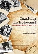Teaching the Holocaust Book PDF