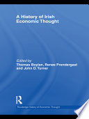 A History Of Irish Economic Thought