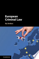 European Criminal Law Book