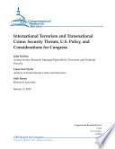 International Terrorism And Transnational Crime Book PDF