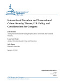 International Terrorism and Transnational Crime