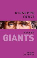 Giuseppe Verdi: pocket GIANTS