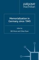 Memorialization in Germany since 1945 ebook