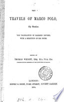The Travels of Marco Polo the Venetian Book