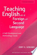 Teaching English As A Foreign Or Second Language Second Edition