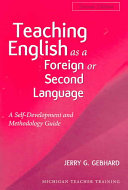 Teaching English as a Foreign Or Second Language, Second Edition