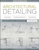 Pdf Architectural Detailing