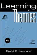 Learning Theories: A to Z