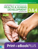 Cover of Key Concepts VCE Health and Human Development, Units 3 and 4