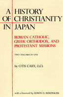 Pdf History of Christianity in Japan Telecharger