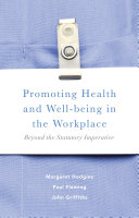 Promoting Health and Well being in the Workplace