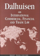 Dalhuisen on International Commercial  Financial and Trade Law