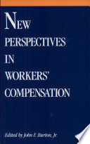New Perspectives in Workers  Compensation Book