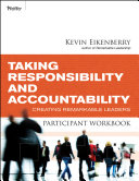Taking Responsibility and Accountability Participant Workbook