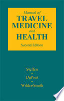Manual of Travel Medicine and Health Book