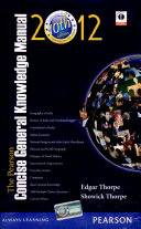 The Pearson Concise General Knowledge Manual 2012