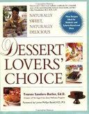 Dessert Lovers  Choice Book PDF