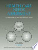 Health Care Needs Assessment Book