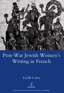 Pdf Post-war Jewish Women's Writing in French Telecharger