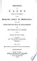 Reports of Cases Argued and Determined in the Supreme Court of the State of New York  Johnson v 1 20