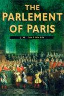 The Parlement of Paris