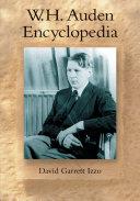 Pdf W.H. Auden Encyclopedia Telecharger