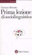 Prima lezione di sociolinguistica