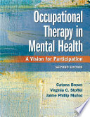 Occupational Therapy in Mental Health Book