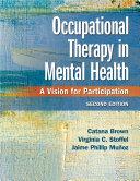 Occupational Therapy in Mental Health [Pdf/ePub] eBook
