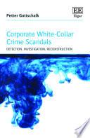 Corporate White Collar Crime Scandals Book