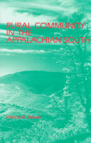 Rural Community In The Appalachian South