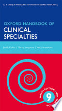 Oxford Handbook Of Clinical Specialties Book PDF