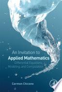 An Invitation to Applied Mathematics Book