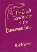 Pdf The Occult Significance of the Bhagavad Gita