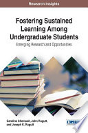 Fostering Sustained Learning Among Undergraduate Students Emerging Research And Opportunities