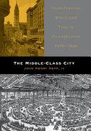 The Middle-Class City Pdf/ePub eBook