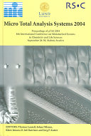 Micro Total Analysis Systems 2004 Book PDF