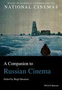 A Companion to Russian Cinema Pdf/ePub eBook