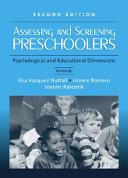 Assessing and Screening Preschoolers