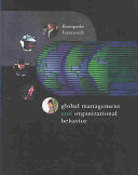 Cover of Global Management and Organizational Behavior