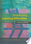 Researching Learning Difficulties  : A Guide for Practitioners