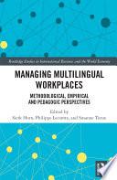 Managing Multilingual Workplaces