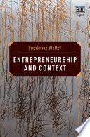 Entrepreneurship and Context