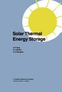 Solar Thermal Energy Storage Book