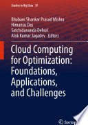Cloud Computing for Optimization  Foundations  Applications  and Challenges