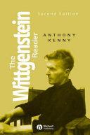 The Wittgenstein Reader