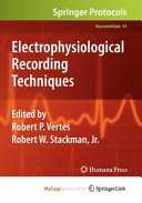 Electrophysiological Recording Techniques