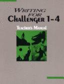 Writing for Challenger 1 4 Teachers Manual