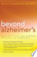 Beyond Alzheimer s Book