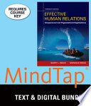 Effective Human Relations + Mindtap Management, 1-term Access